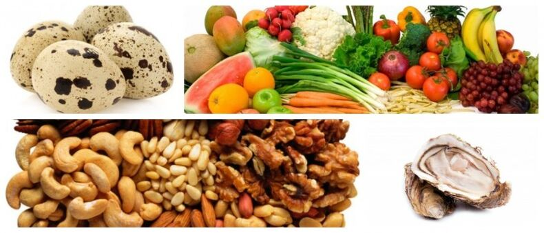 foods to increase the disorder in men