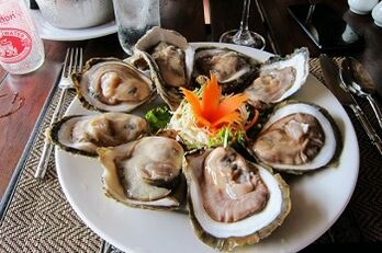 Oysters are one of the most effective products to increase strength